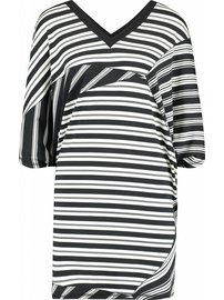 Juan les pins dress | Block stripe | Black