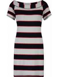 Hurley tunic stripe | Dark blue - Red