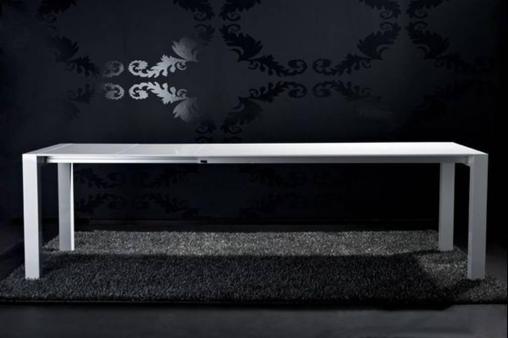 Eetkamertafel Design : Design Eetkamertafel Hoogglans Zwart