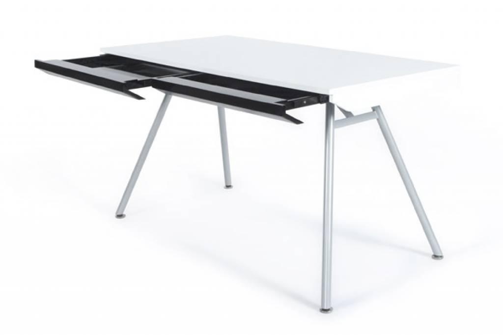 Bureau Design Bois Pas Cher : Pin Bureau Design Kokoon Bois Mdf Laque Blanc Bureaux Mobiliers on