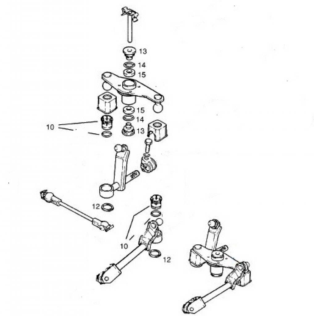 reparatieset voor schakelmechaniek opel astra
