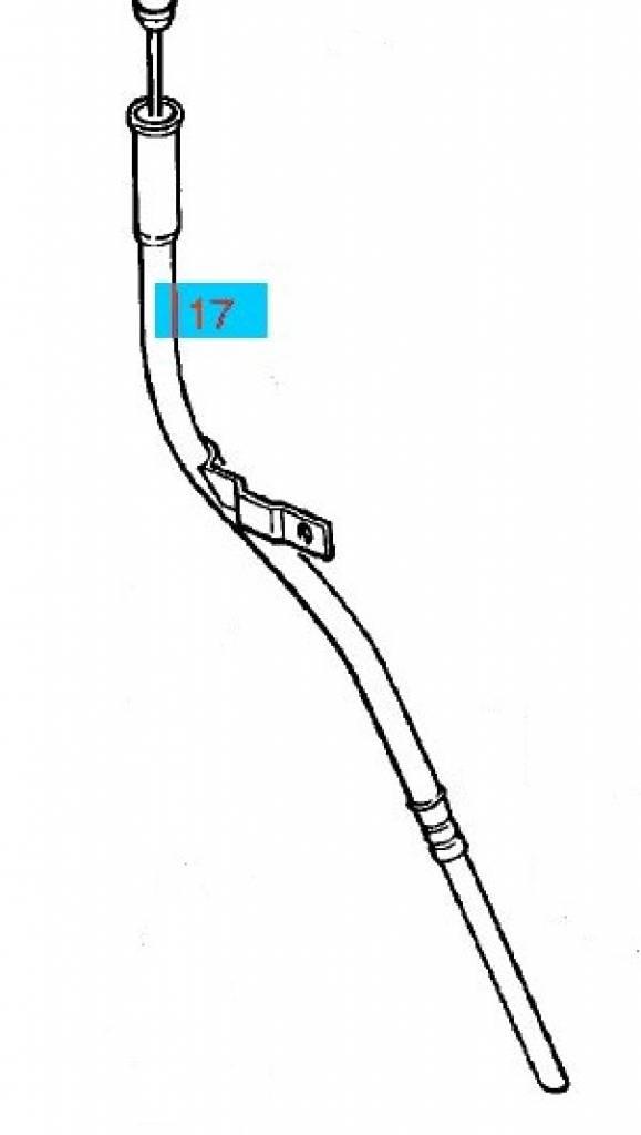 tube dipstick opel agila-a z10xe    z10xep