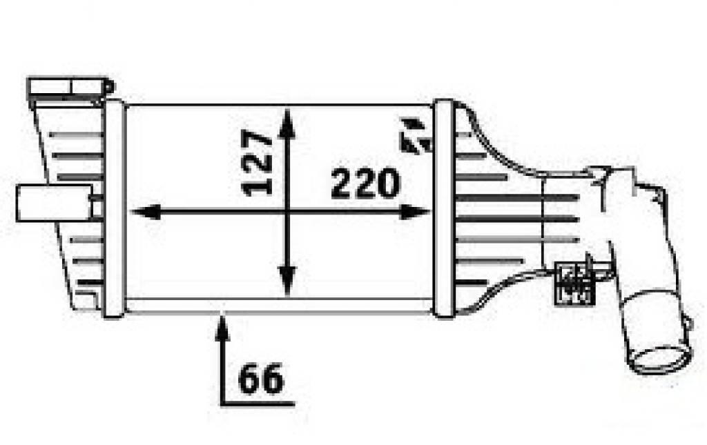 Интеркулер-теплообменник опель sintra теплообменник горячая иркутск