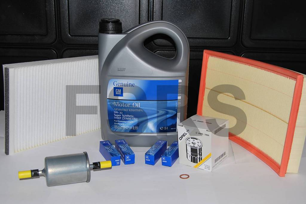 Service package opel astra g zafira a 1 6 1 8 2 0 petrol for Interieur filter