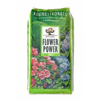 Flower Power Koemestkorrel 20KG - 40 liter