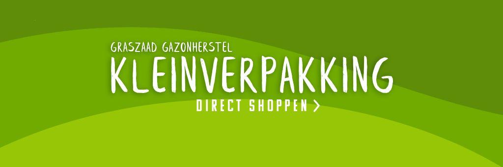 Kleinverpakking graszaad Gazonherstel