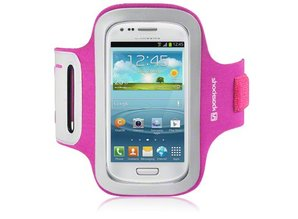 Shocksock Sport Armband voor Samsung Galaxy S3 Mini i8190 - Rose
