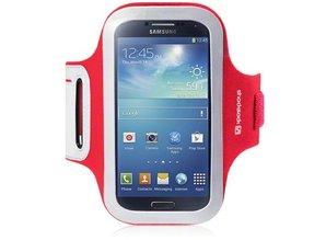Shocksock Sport Armband voor Samsung Galaxy S4 i9500 - Rood