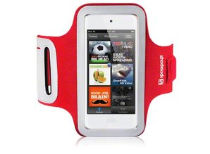 Shocksock Sport Armband voor Apple iPod Touch 5 - Rood