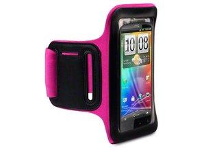 Shocksock Sport Armband voor HTC Sensation - Rose