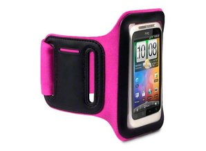 Shocksock Sport Armband voor HTC Desire C - Rose