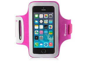Shocksock Sport Armband voor Apple iPhone 5/5S - Rose