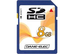Dane-Elec 8GB SDHC Class 4 geheugenkaart