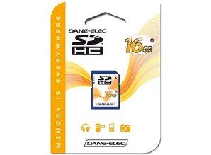 Dane-Elec 16GB SDHC Class 4 geheugenkaart