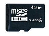 Dane-Elec 4GB microSDHC Class 4 Card + SD Adapter