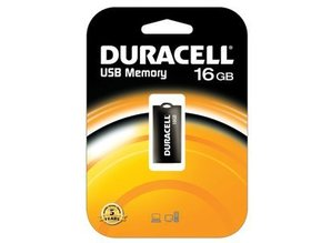 Duracell 16GB High Speed USB 2.0 Stick Pen Drive Mini