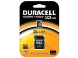 Duracell 32GB microSDHC Class 4 Card + SD Adapter