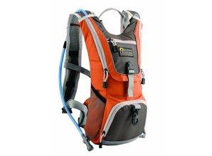Active Leisure Tanami Waterrugzak inclusief 1.5L waterbag - Oranje/Grijs