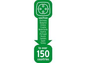 Brennenstuhl reisstekker 150 landen