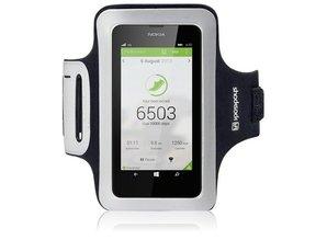 Shocksock Sport Armband voor Nokia Lumia 630/635 - Zwart