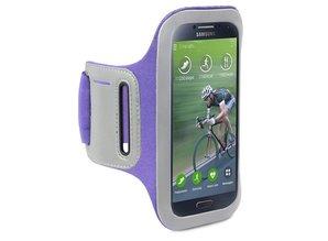 Shocksock Sport Armband voor Samsung Galaxy S4 i9500 - Paars