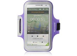 Shocksock Sport Armband voor Samsung Galaxy Note 3 N9000 - Paars