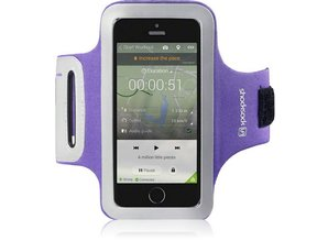 Shocksock Sport Armband voor Apple iPhone 5/5S - Paars