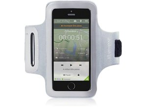 Shocksock Sport Armband voor Apple iPhone 5/5S - Grijs