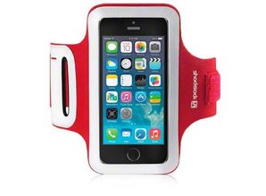 Shocksock Sport Armband voor Apple iPhone 4/4G/4S- Rood