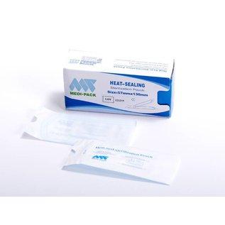 Sterilisationsbeutel, Medi Pack, verschließbar durch Folienschweißgerät, VE 200 Stück