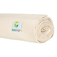Ecoyogi Organic Cotton Yoga Mat Cream