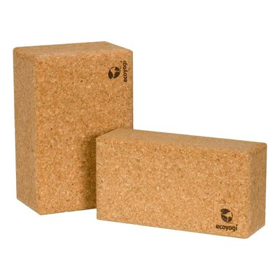 Ecoyogi yoga brick cork medium