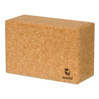 Ecoyogi yoga brick cork large