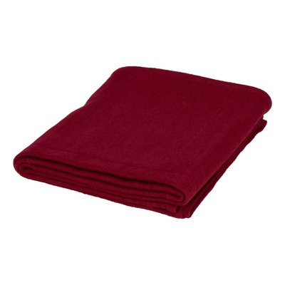 Yoga blanket Bordeaux