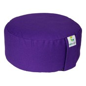 Ecoyogi Meditation cushion Round Purple 100% biological cotton