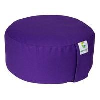 Ecoyogi Meditation cushion Round Purple 100% biological cotton