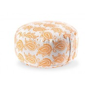 Ecoyogi meditation cushion Orange leaves (eco)