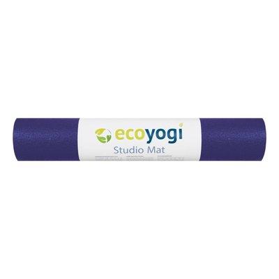 Ecoyogi Studio yogamat - Purple 183 cm