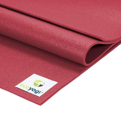 Ecoyogi Studio yogamat - Red 183 cm
