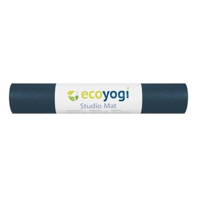 Ecoyogi Studio yoga mat - Blue - 200 cm