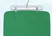 Yoga mat uithangen om te drogen