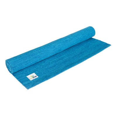 Ecoyogi Organic Cotton mat - Blue