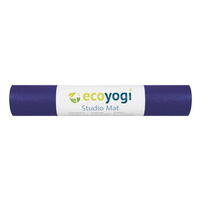 Ecoyogi Ecoyogi Studio mat - Purple - 200 cm