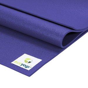 Ecoyogi Studio yoga mat - Paars 200 cm