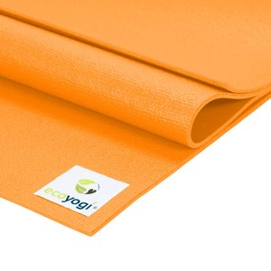 Ecoyogi Studio mat - Orange - 200 cm