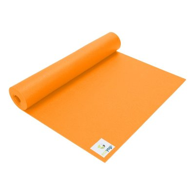 Ecoyogi Studio mat - Orange - 200 cm