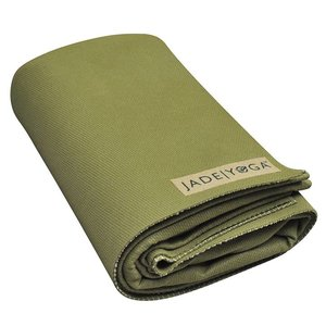 Jade Yoga Voyager travel mat - Olive green