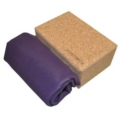 Jade Yoga Voyager travel mat - Purple