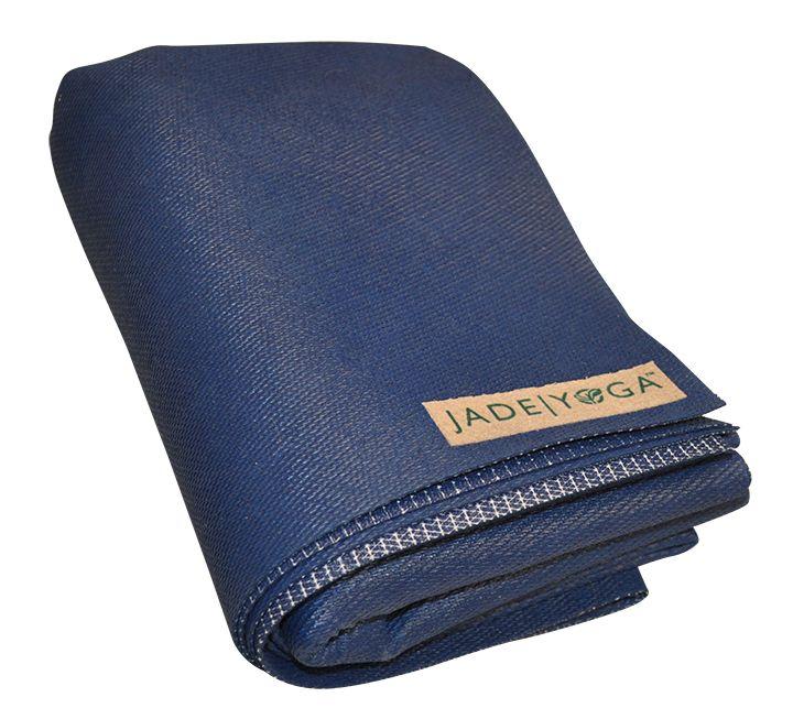 Jade Voyager Reis Mat Blauw Geweldige Grip Yogamat Online