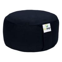 Ecoyogi Meditation cushion Round Dark Blue 100% biological cotton
